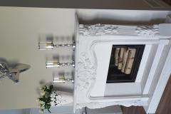 portal - marmur bianco satuario - Arysto A 10